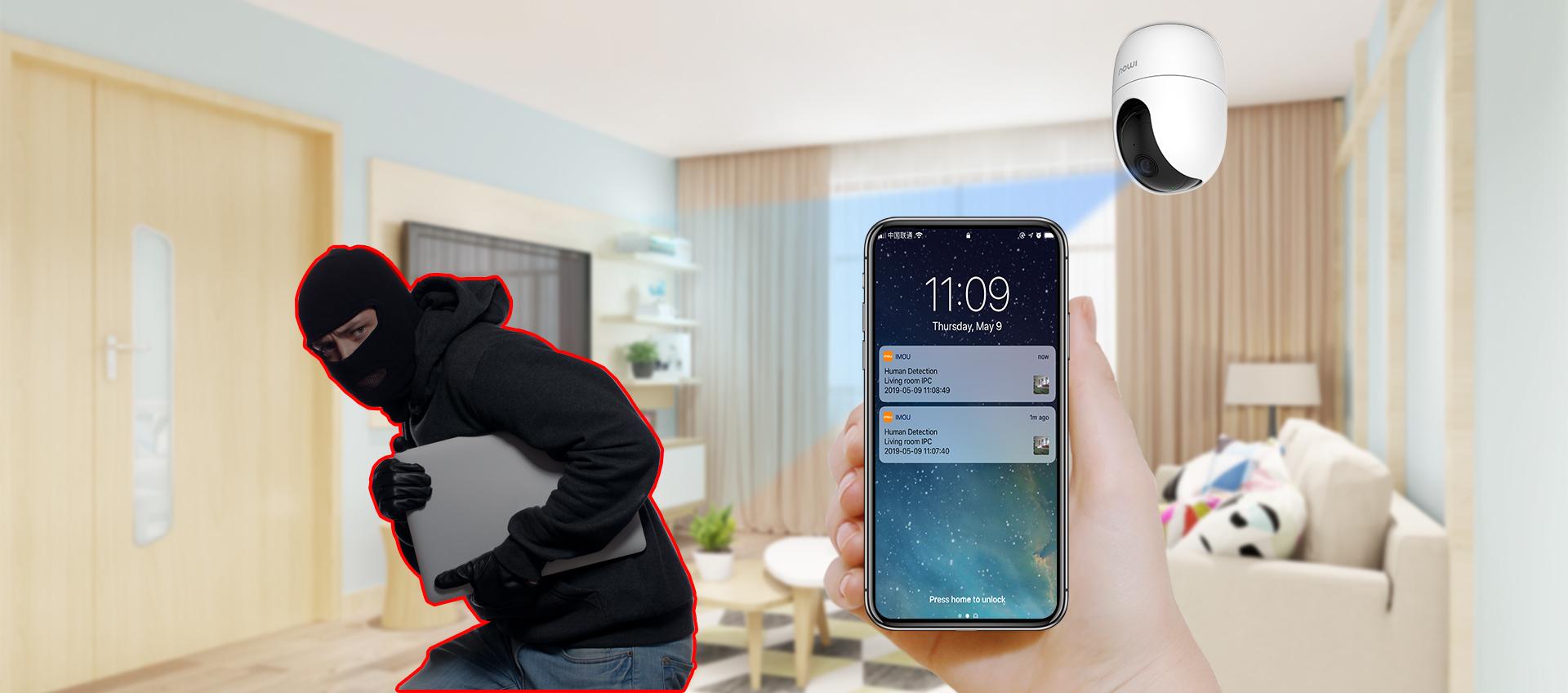 Camera không dây IMOU Ranger - Camera giá rẻ Phan Thiết