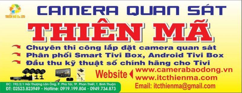 Lắp đặt camera tại Phan Thiết